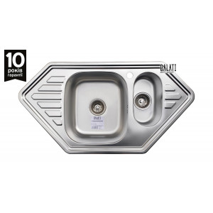 Кухонна мийка Galati Meduza 1.5C Satin 9644