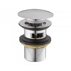 Донный клапан для умывальника с переливом кнопка Ibergrif M20502 IB0087