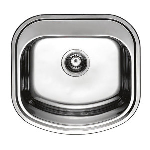Мойка кухонная Haiba 49x47 polish HB0536