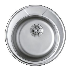 Мойка кухонная Haiba 490 satin HB0534