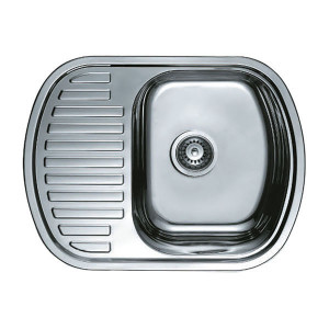 Мойка кухонная Haiba 63x49 polish HB0551