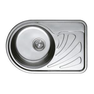 Мойка кухонная Haiba 67x44 satin HB0649
