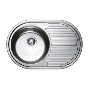 Мойка кухонная Haiba 77х50 satin HB0563