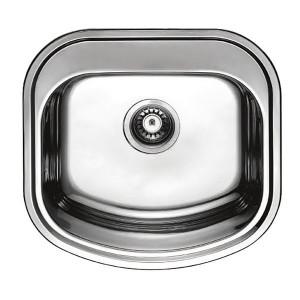 Мойка кухонная Haiba 49x47 satin HB0537