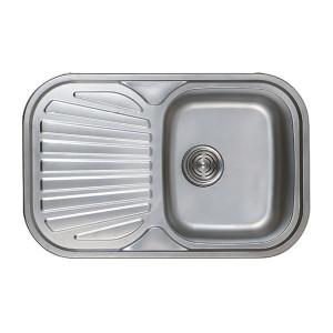 Мойка кухонная Haiba 74x48 decor HB0559