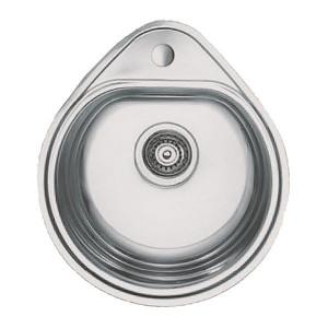 Мойка кухонная Haiba 50x44 satin HB0540