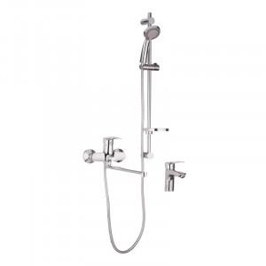 Комплект смесителей для ванной Haiba HANSBERG SET - 3 HB0902