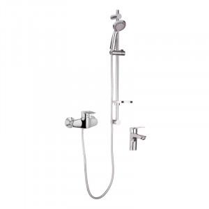 Комплект смесителей для ванной Haiba HANSBERG SET - 2 HB0901