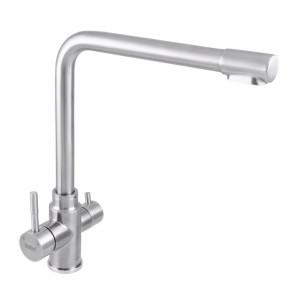 Смеситель для кухни Haiba SUS 021 с выходом для питьевой воды HB3908