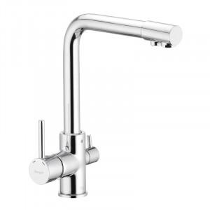 Смеситель для кухни с выходом для питьевой воды Ibergrif M22109 IB0074