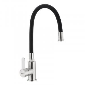 Смеситель для кухни с гибким силиконовым изливом Ibergrif M22119-2 IB0063