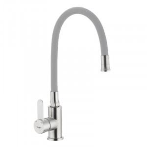 Смеситель для кухни с гибким силиконовым изливом Ibergrif M22119-9 IB0065