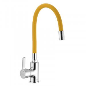 Смеситель для кухни с гибким силиконовым изливом Ibergrif M22112-4 IB0070