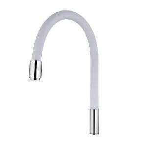 Излив силиконовый WHITE Mixxus Premium MI0557
