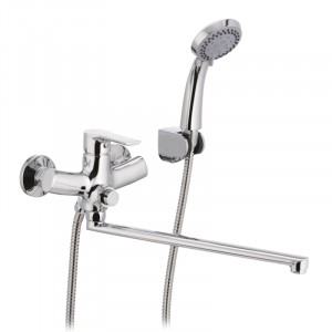 Смеситель для ванны Mixxus Premium Push Chr-006 перекл. кнопкой MI1665