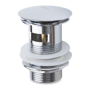 Донный клапан нажимной с переливом Haiba AC0546