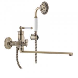 Змішувач для ванни MIXXUS PREMIUM VINTAGE бронзовий 006 (MI2864)