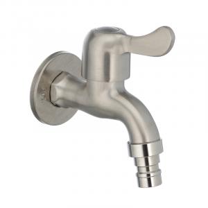 Кран для холодной воды 1/2 Mixxus BIB-02 нерж. сталь SS0051