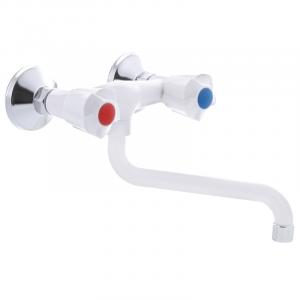 Змішувач на кухню PLAMIX AMA-361 білий (без підводки) (PM0582)