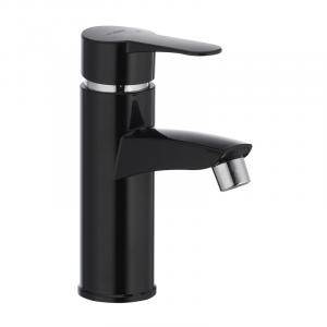 Смеситель пластиковый для умывальника Plamix Sergio-001 Black без подводки PM0030