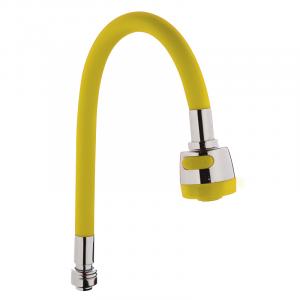 Излив силиконовый (желтый) Zerix SPS-01 (ZX2626)