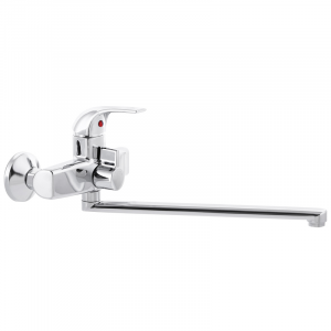 Змішувач для ванни PLAMIX NIKOS-006 (без шланга і лійки) (PM0586)