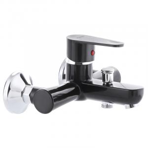 Змішувач для ванни PLAMIX VEGA-009 чорний (без шланга і лійки) (PM0574)