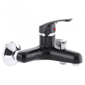 Змішувач для ванни PLAMIX AFINA-009 чорний (без шланга і лійки) (PM0566)
