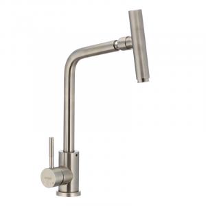 Смеситель для кухни с поворотным изливом Mixxus SUS-017 SS0009