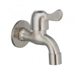 Кран для холодной воды 1/2 Mixxus BIB-01 нерж. сталь SS0050