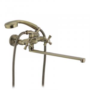 Смеситель для ванны Mixxus Premium Retro Bronze-140 MI1651