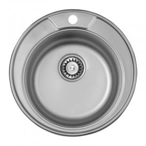 Кухонная мойка из нержавеющей стали ULA HB 7104 ZS DECOR