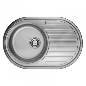 Кухонная мойка из нержавеющей стали ULA HB 7108 ZS DECOR