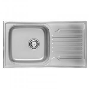 Кухонная мойка из нержавеющей стали ULA HB 7204 ZS DECOR