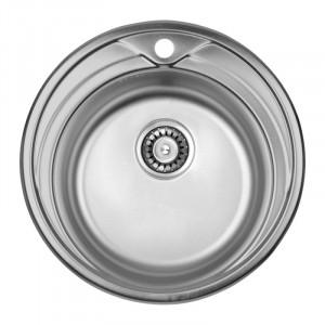 Кухонная мойка из нержавеющей стали ULA HB 7109 ZS POLISH