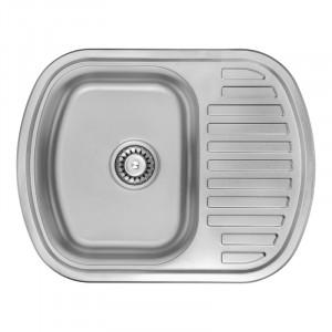 Кухонная мойка из нержавеющей стали ULA HB 7704 ZS SATIN