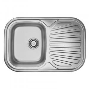 Кухонная мойка из нержавеющей стали ULA HB 7707 ZS DECOR