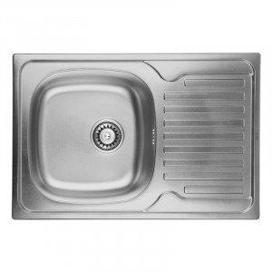 Кухонная мойка из нержавеющей стали ULA HB 7203 ZS DECOR