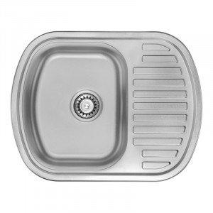 Кухонная мойка из нержавеющей стали ULA HB 7704 ZS DECOR