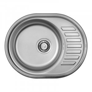 Кухонная мойка из нержавеющей стали ULA HB 7112 ZS SATIN