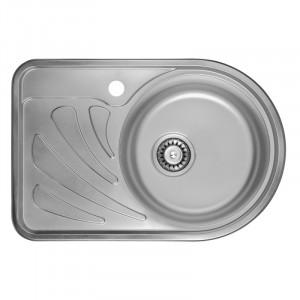 Кухонная мойка из нержавеющей стали ULA HB 7111 ZS DECOR R