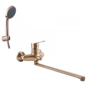 Смеситель для ванны и душа POTATO P2209B-2