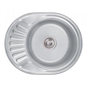 Кухонная мойка Lidz 5745 Decor 0,6 мм (LIDZ574506DEC)