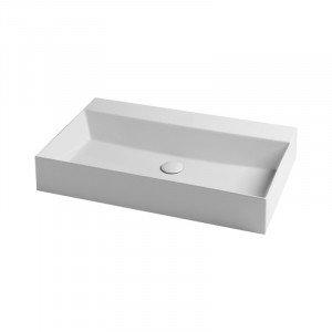Раковина Azzurra Elegance squared EQA75MB1 Shiny white
