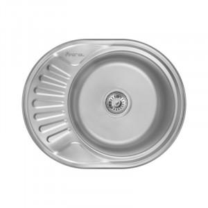 Кухонная мойка из нержавеющей стали Imperial 5745-6044 Decor
