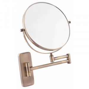 Косметическое зеркало Q-TAP Liberty ANT 1147 бронза