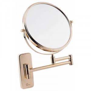 Косметическое зеркало Q-TAP Liberty ORO 1147 золото