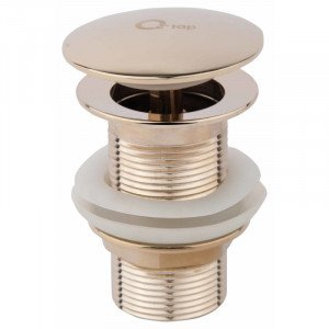 Донный клапан Q-Tap ORO L03 золото