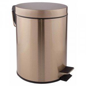 Ведро для мусора 5 литров Qtap Liberty ANT 1149 бронза