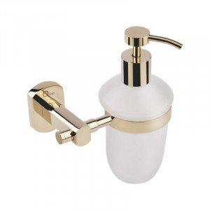 Дозатор для жидкого мыла Q-TAP Liberty ORO 1152 золото